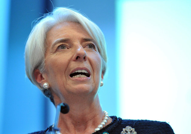 Christine Lagarde, diretora-gerente do FMI