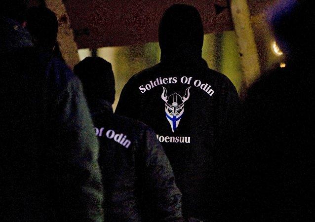 Grupo nacionalista finlandês Soldados de Odin
