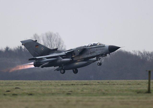Avião Tornado da Força Aérea alemã