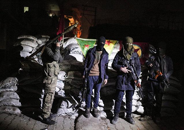 Militantes do Partido dos Trabalhadores do Curdistão (PKK)