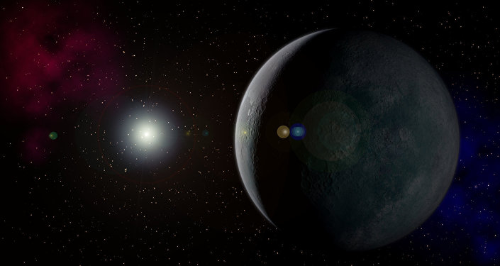 Nono planeta visto por um artista