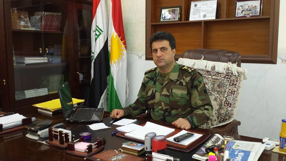 Representante oficial do Ministério para os Assuntos dos Peshmerga do Curdistão iraquiano, Helgurt Hikmet