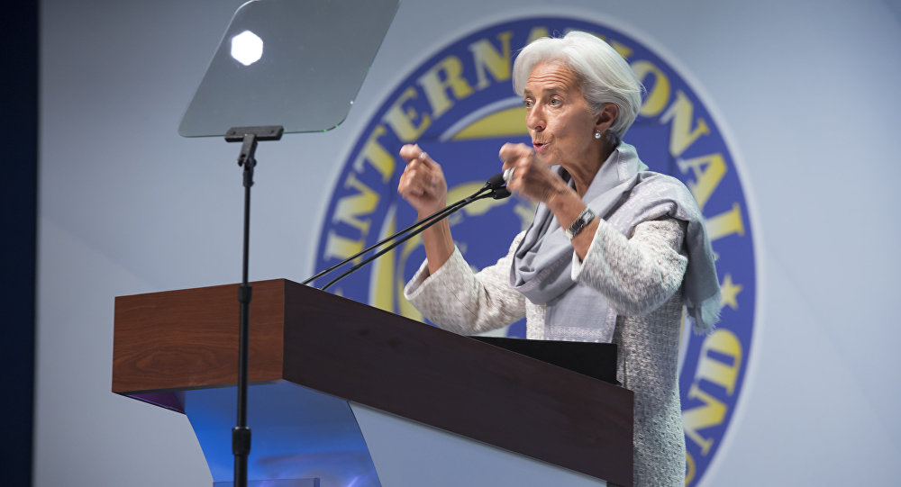 Cristine Lagarde, diretora-gerente do Fundo Monetário Internacional (FMI)