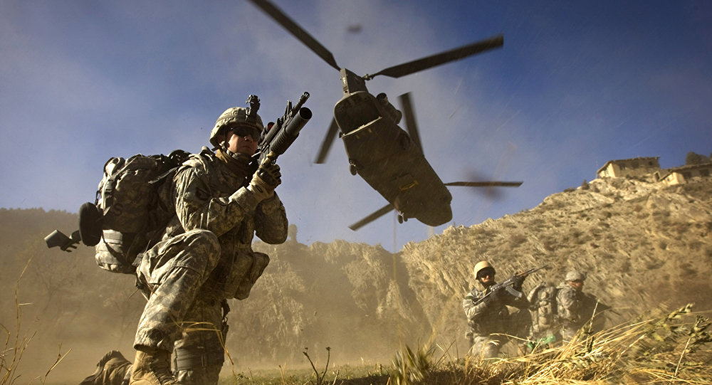 Os soldados do exército dos EUA da 101ª Divisão Aerotransportada