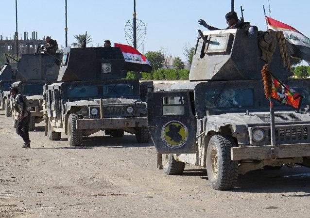 Forças iraquianas libertam os arredores de Ramadi, Iraque, 15 de janeiro de 2016