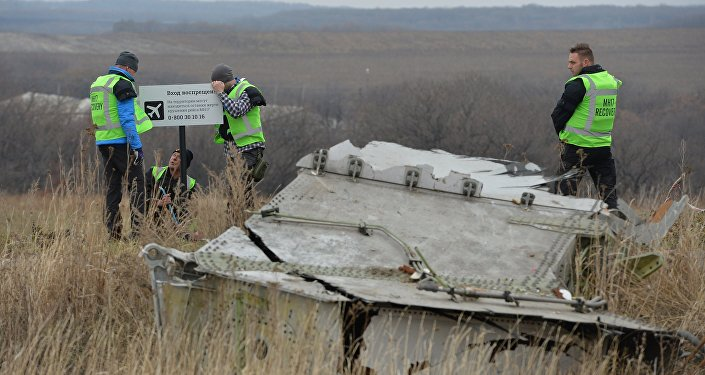 Peritos holandeses trabalham no lugar da queda do Boeing malaio no leste da Ucrânia