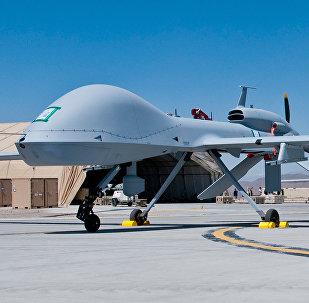 Drones de ataque com mísseis Grey Eagle (imagem ilustrativa)