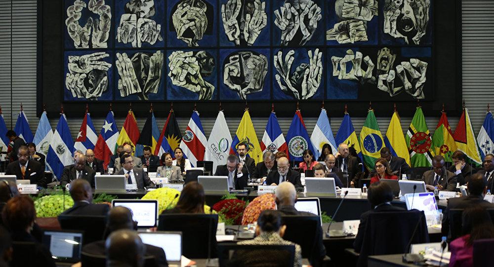 Abertura da IV CELAC, em Quito, Equador