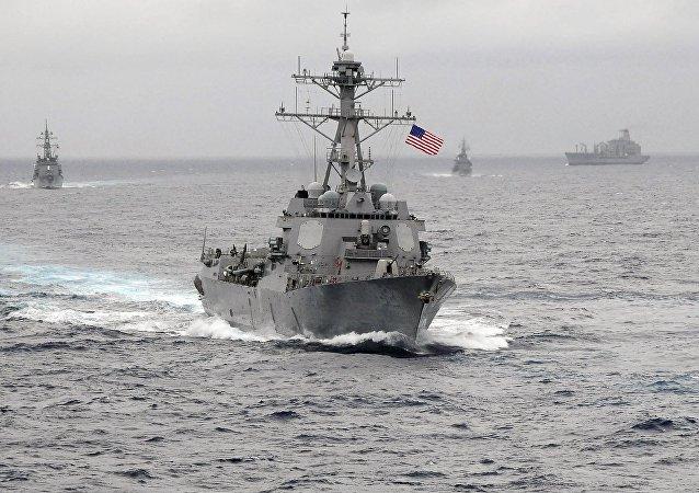 Destróier Lassen da marinha dos EUA
