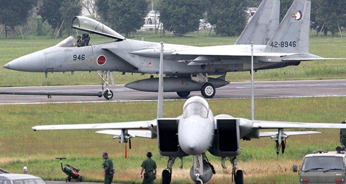 Caças F-15 japoneses