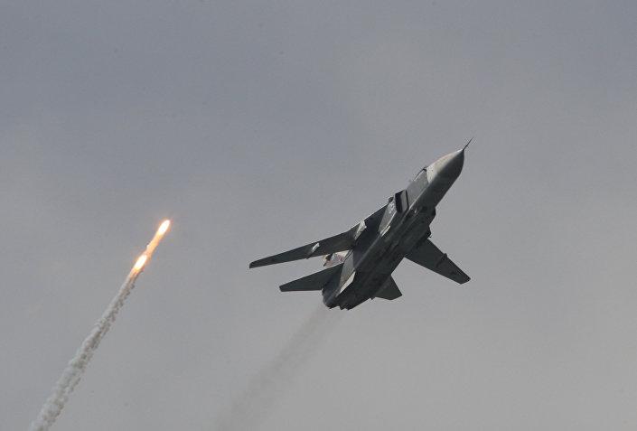Bombardeiro russo Su-24M