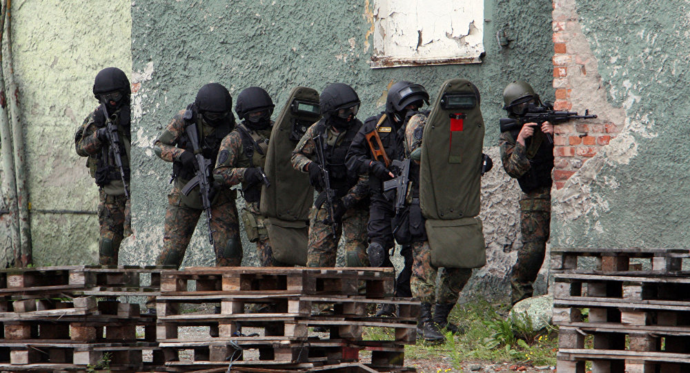 Exércicios antiterroristas do FSB, Rússia