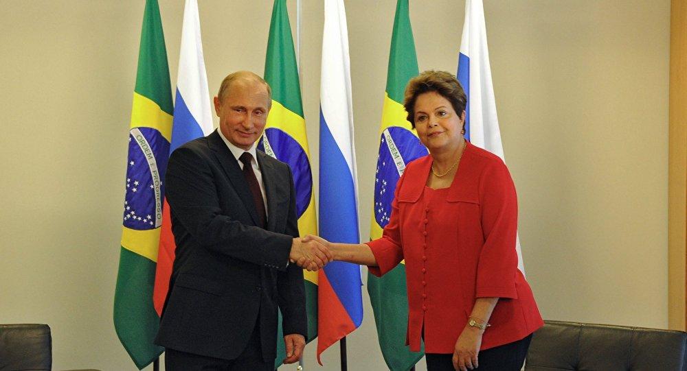 Putin e Dilma