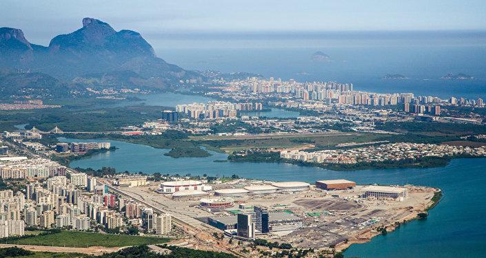 Visão geral do Parque Olímpico da Barra