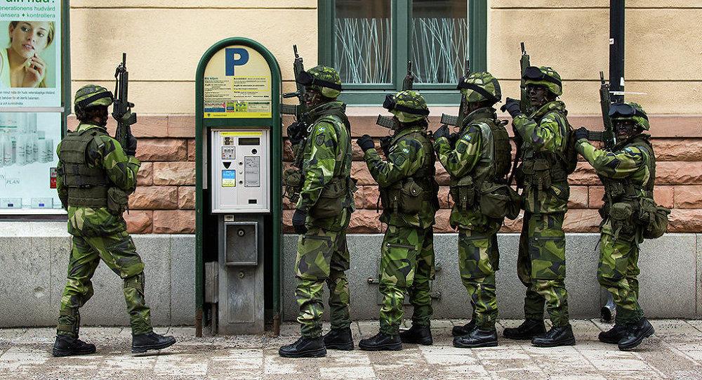 Soldados suecos