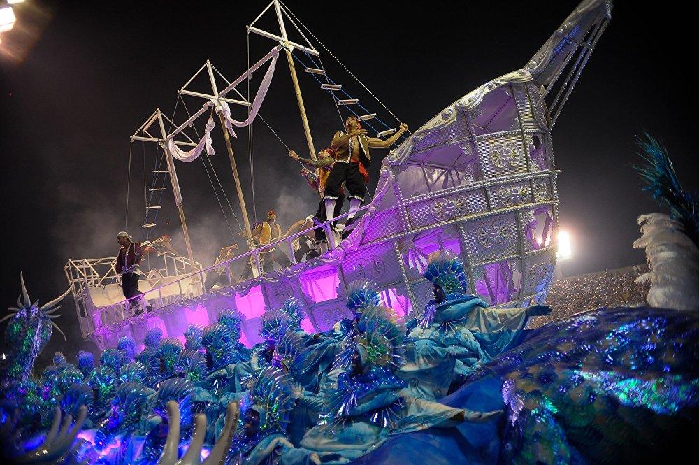 Desfile da Portela no Sambódromo