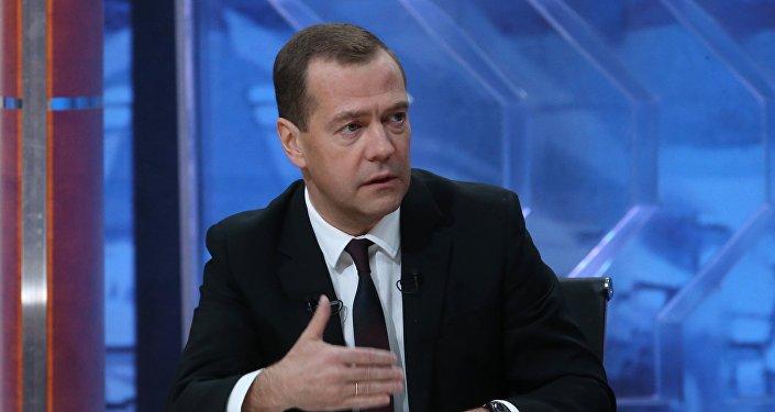 Primeiro-ministro da Rússia, Dmitry Medvedev