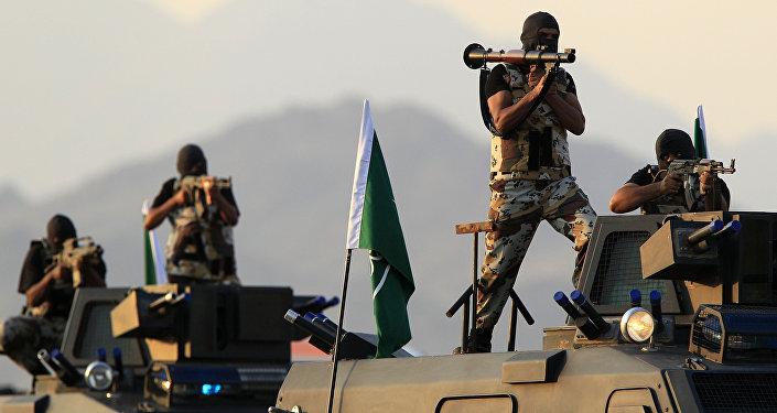 Forças especiais sauditas