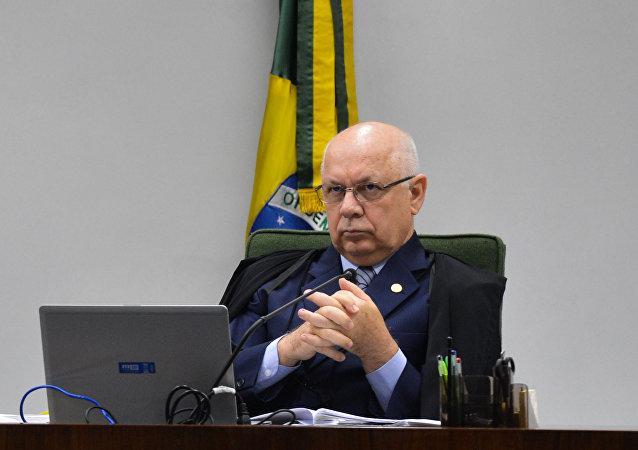 Teori Zavascki, relator da Lava Jato no STF