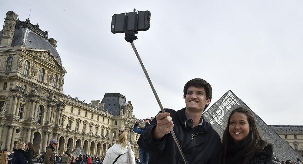 Selfie em Paris