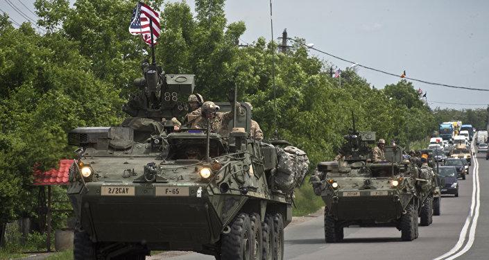 Veículos armados dos EUA
