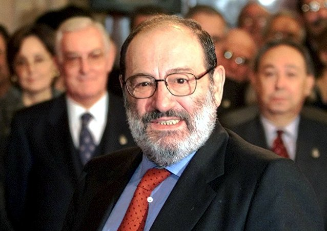 Umberto Eco, foto de arquivo