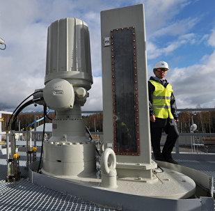Lançamento da segunda linha do gasoduto Nord Stream (foto de arquivo)