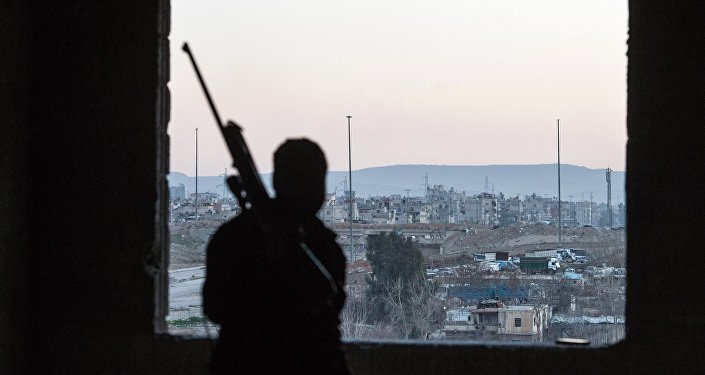 Jobar, distrito de Damasco controlado por militantes do Jabhat al-Nusra (foto de arquivo)