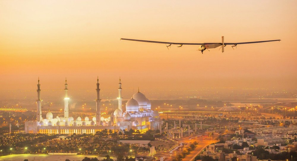 Solar Impulse 2, avião movido a energia solar