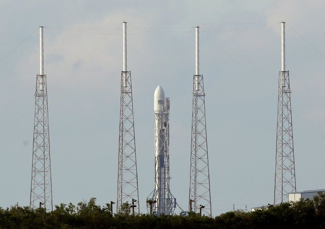 A SpaceX Falcon 9 rocket
