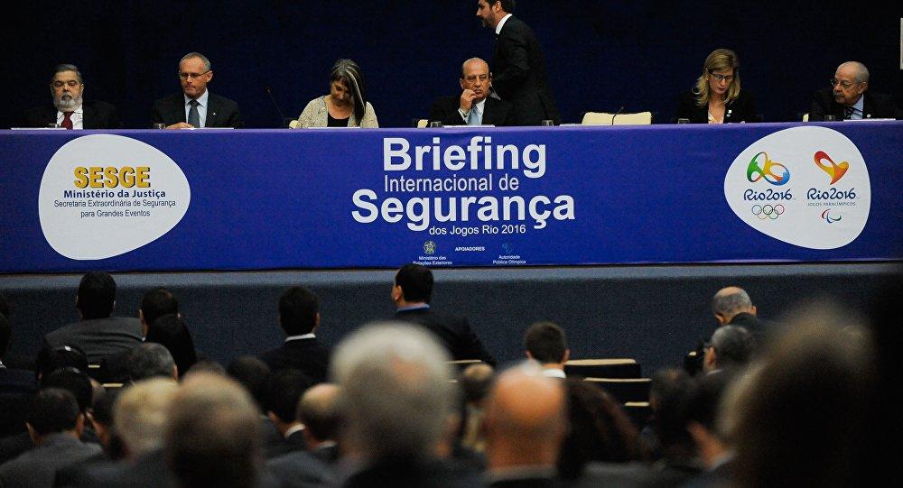 A secretaria Extraordinária de Segurança para Grandes Eventos do Ministério da Justiça (SESGE/MJ), apresenta o planejamento de segurança dos Jogos Rio 2016. 25/11/2015