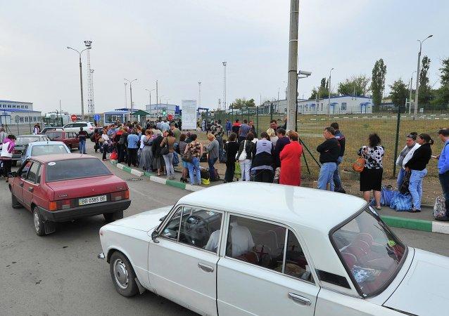 Refugiados ucranianos retornam para casa