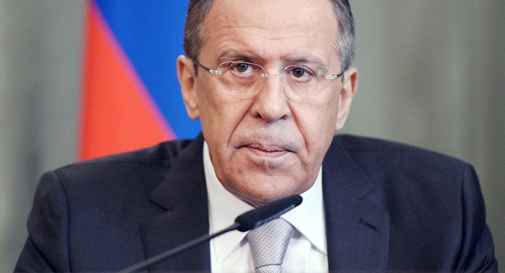 O chanceler russo Sergei Lavrov