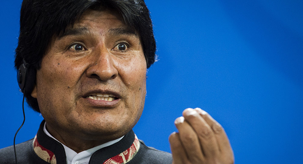 Presidente bolivariano Evo Morales (foto do arquivo)
