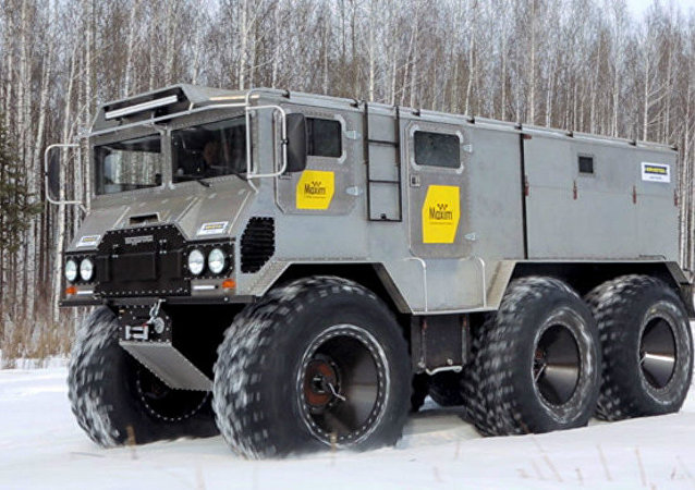 The Burlak off-road vehicle