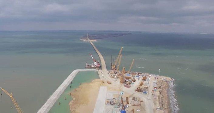 Assim será a ponte que ligará Crimeia à Rússia