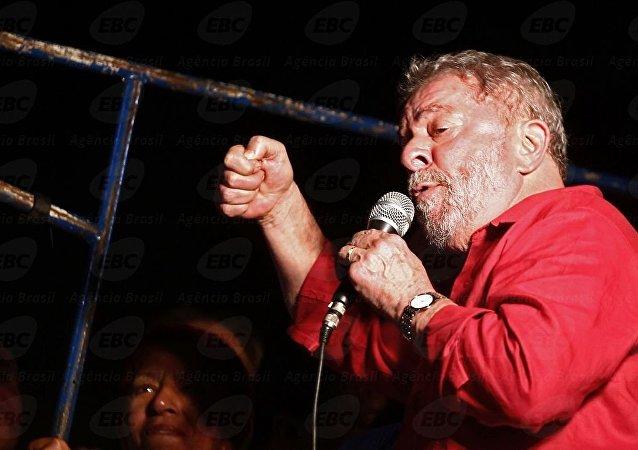 Na Paulista, Lula participa de ato contra impeachment, 18 de março de 2016