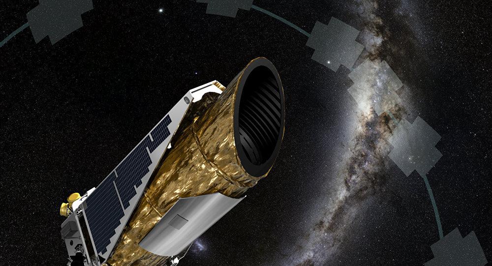 Ilustração: observatório astronômico Kepler