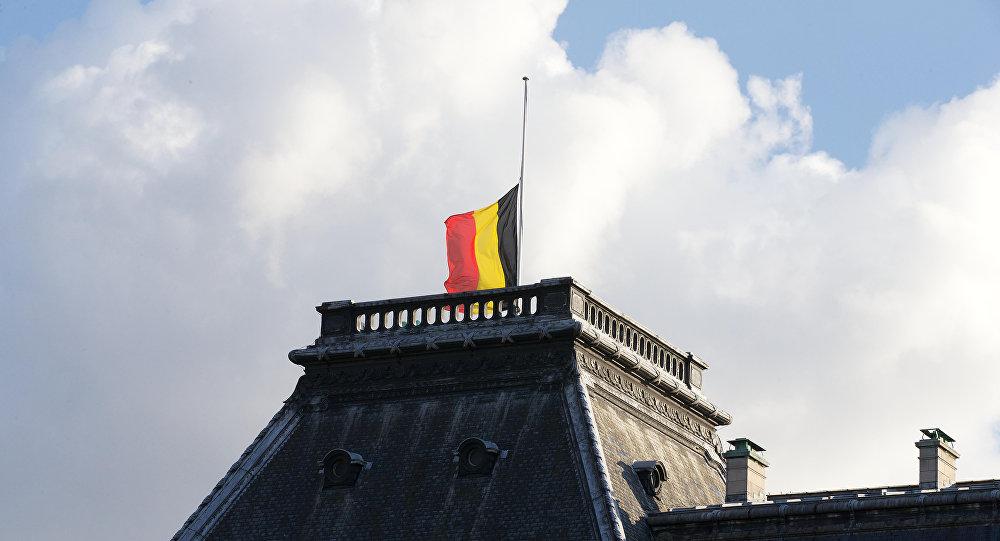 Palácio real da Bélgica depois dos atentados de 22 de março