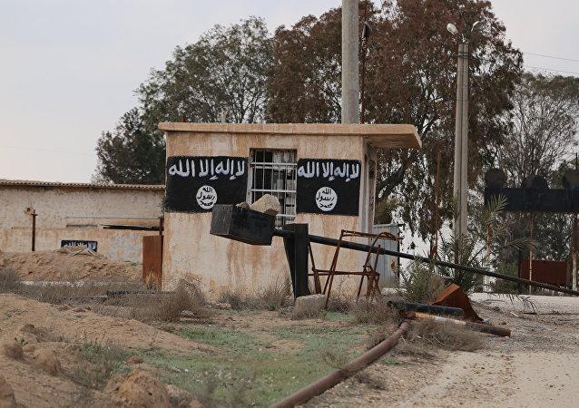 Prédio do Daesh na Síria, março de 2016