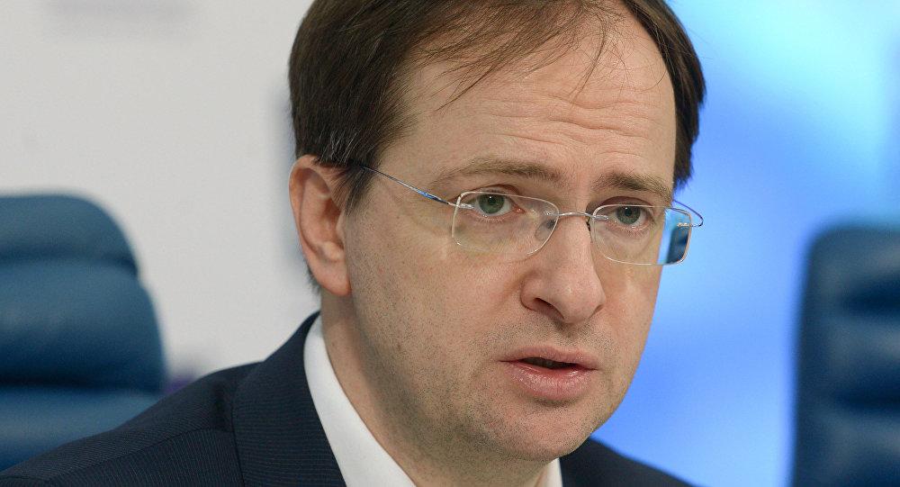 Vladimir Medinsky, ministro da Cultura da Rússia