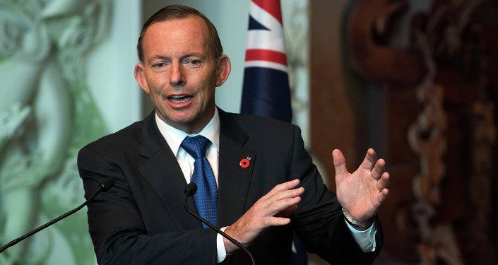 Ex-primeiro-ministro australiano Tony Abbott