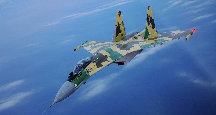Caça russo Sukhoi Su-35