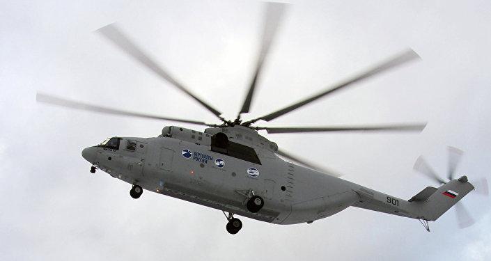Helicóptero russo Mi-26T2