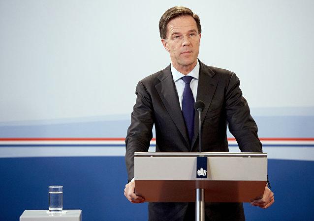 Mark Rutte, primeiro-ministro da Holanda (arquivo)