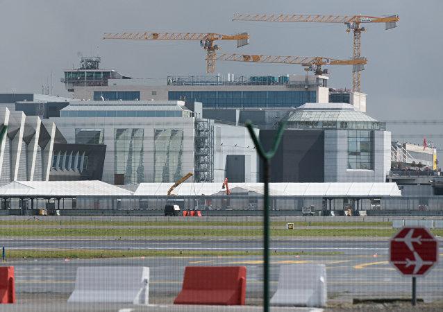 Aeroporto de Bruxelas em 29 de março de 2016
