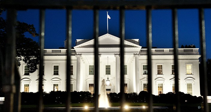 Casa Branca à noite