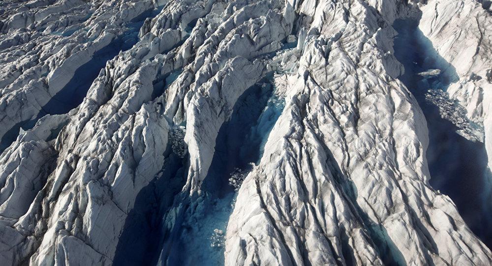Geleiras da Groenlândia (Foto de arquivo)