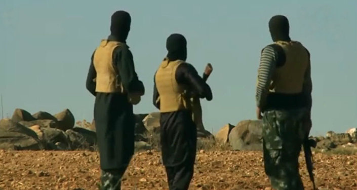 Militantes do grupo terrorista Daesh (proibida na Rússia) no Afeganistão