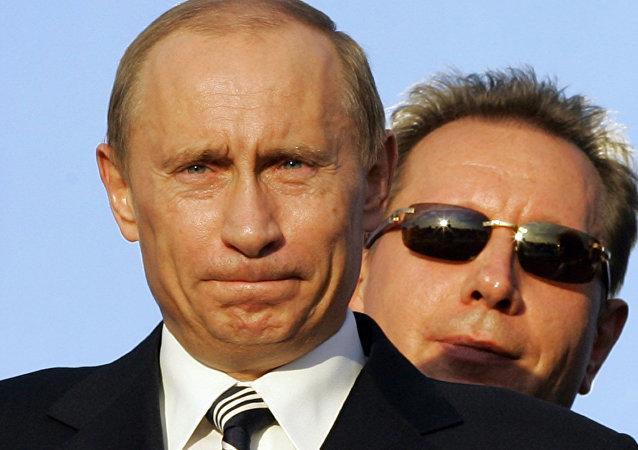 Ex-chefe de guarda-costas do Presidente Putin
